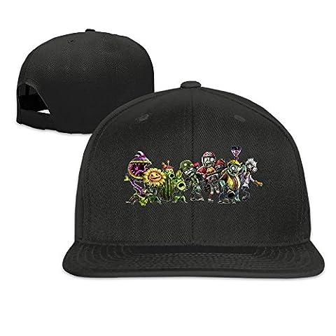 thna plants VS Zombies Garden Warfare réglable Fashion Casquette de baseball - noir - Taille Unique