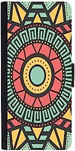 Snoogg Aztec Target Vision Designer Protective Flip Case Cover For Samsung Ga...