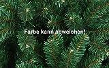 Künstlicher Weihnachtsbaum 120cm hoch – Farbe: Grün - 2