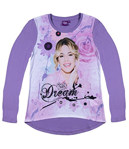 Disney violetta ragazze maglietta maniche lunghe - viola - 128
