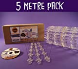 Defender Narrow Stainless Steel Bird and Pigeon Spikes 5 Metre Pack. A Humane Bird & Pigeon Control Repellent. Get rid of pigeons and scare birds with our anti-roosting deterrent