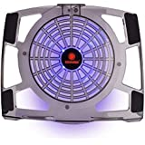 NSinc - Coolmax NB-480 Notebook Cooler Pad With 120mm Blue LED Fan - Supports 14 Inch+