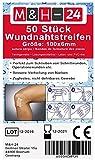 50er Set Klammerpflaster Wundnahtstreifen-Strips Nahtmaterial Wunde Wundverband Pflaster Steril 102x6 mm