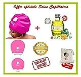 offre prestige été pink soins capillaires (bonnet -huile fenugrec 100ml) - tote bag...