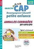 Annales Examen 2020 CAP Accompagnant Éducatif Petite Enfance...