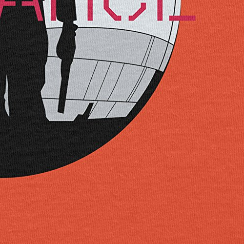 NERDO - Jyn Defiance - Herren T-Shirt Orange