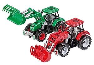 Happy People 30042-Tractor con Carga Frontal y Pinza