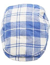 ACVIP Coppola Bambini Cotone Plaid Colorato Cappello 943d5832f439