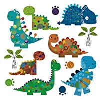Pegatina transfer parche termoadhesivo dinosaurios gorditos para bodys, camisetas, chandal, sudaderas, babys, pijamitas, albornoces, canastillas. de CHIPYHOME