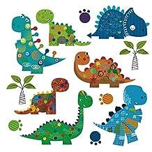 Pegatina transfer termoadhesivo dinosaurios gorditos para bodys, camisetas, chandal, sudaderas, babys,