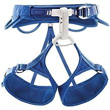 Petzl Klettergurte Adjama - Arnés de escalada, color azul, talla s
