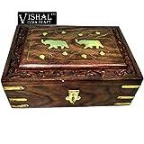 VISHAL INDIA MART Handcraft wooden JEWEL...