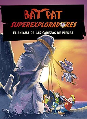 El enigma de las cabezas de piedra (Bat Pat Superexploradores 5) por Roberto Pavanello