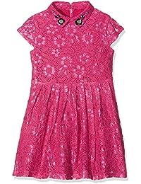Uttam Boutique Girl's Two Tone Lace Dress