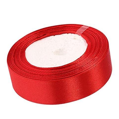 asentechuk® 22m Ruban en satin de soie décoration de mariage
