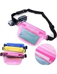 Bazaar Femmes hommes sèche caméra étanche sac de taille de natation de cas couverture de téléphone de la poche de support