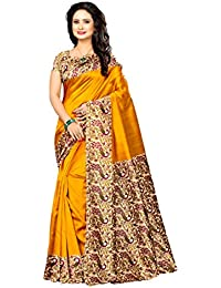 Winza Designer Silk Saree With Blouse Piece