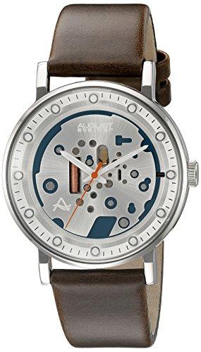August Steiner Reloj con movimiento cuarzo japonés  Marrón 40 mm