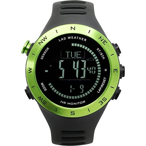 51pfLsZ81sL. SS500  - Lad Weather Heart Rate Monitor Altimeter Barometer Compass USB Rechargeable Brand of America and Japan Sports Watch