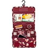 Supreme Portable Hanging Toiletry Bag Travel Organizer Cosmetic Bag For Women & Men Kit With Hanging Hook For...