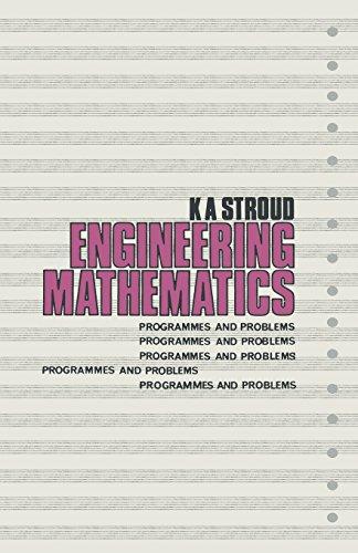 Engineering Mathematics: Programmes and Problems