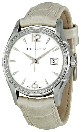 Hamilton Women's H32381915 Jazzmaster White Dial Watch