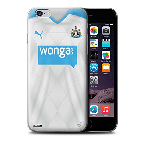 Offiziell Newcastle United FC Hülle / Case für Apple iPhone 6+/Plus 5.5 / Pack 29pcs Muster / NUFC Trikot Away 15/16 Kollektion Fußballer