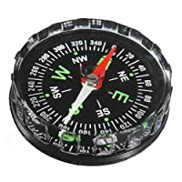 Carry stone Mini Portable Compass Pocket Liquid Outdoor Survival Navigation Tool Durable and Practical