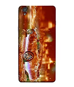 PrintVisa Stunning Fireworkes Classic 3D Hard Polycarbonate Designer Back Case Cover for OnePlus X :: One Plus X