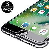 FIGEMN [3 Stück] Panzerglas Schutzfolie für iPhone 7/iPhone 8, Panzerglasfolie Displayschutzfolie für iPhone 7/8/6S/6, Anti-Öl & Fingerabdruck, 9H Härtegrad, 3D Touch Kompatibel (4,7 Zoll)