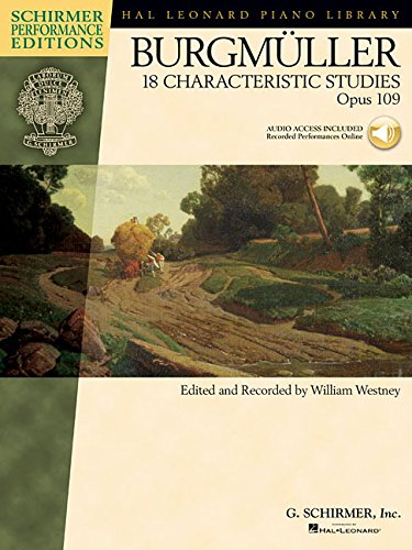 18 Characteristic Studies, Op. 109 (Schirmer Performance Editions)