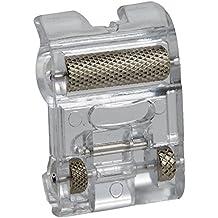 Alfa Prensatelas con ruedas para materiales elásticos y gruesos, accesorio para máquina de coser, acero inoxidable