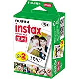 Fujifilm - Instax Mini - Twin Film - 86 x 54 mm - Pack 2 x 10 Films