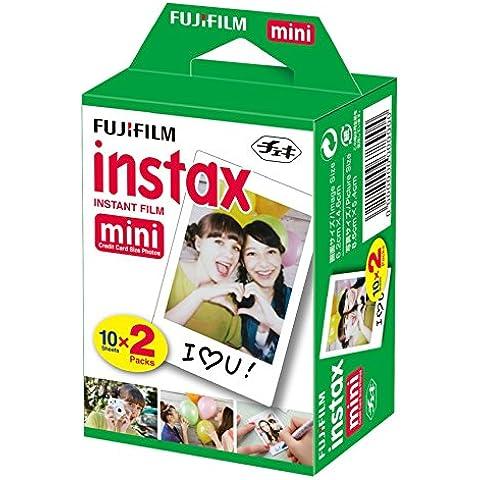 Fujifilm Instax Mini Film 20 Pellicole Instantanee per Fotocamere Instax Mini