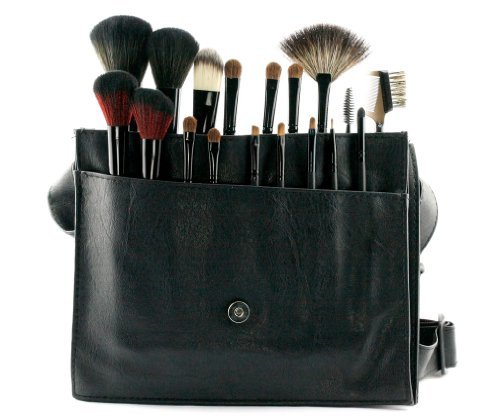 18 PCS Pinceaux Cosm¨¦tiques/Trousse ¨¤ Maquillage Professionnel/Makeup Brush Set