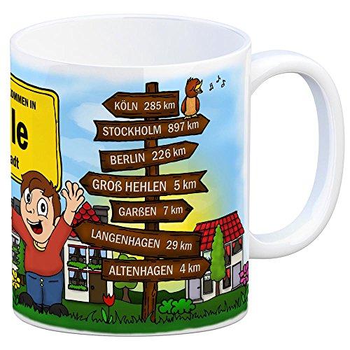trendaffe - Herzlich Willkommen in Celle Kaffeebecher - 5