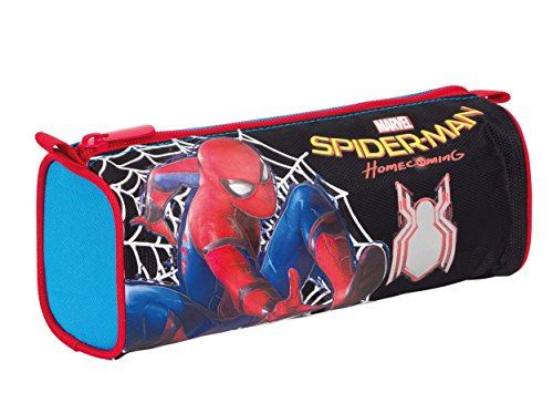 Estuche Escolar – Marvel Spiderman Homecoming- Negro Azul Rojo