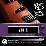 D\'Addario Bowed Jeu de cordes pour alto D\'Addario NS Electric, «Long Scale», tension Medium