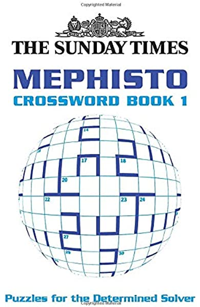 The Sunday Times Mephisto Crossword Book 1 Amazon Co Uk The Times Mind Games 9780007165339 Books