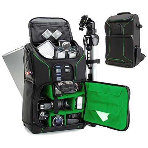 Mochila Cámara de Fotos Reflex DSLR USA Gear, Funda Resistente al Agu