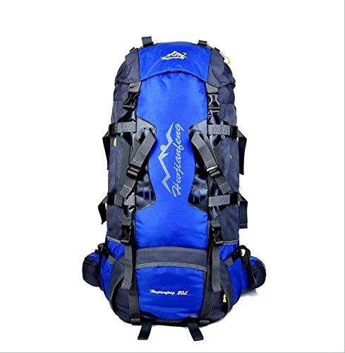 BM 80L allmountain outdoor sport zaino zaino , royal blue Sky Blue