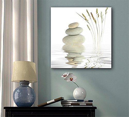 xiuxiandianju-creative-pierres-eau-continental-peinture-decorative-giclee-toiles-frameless-peintures