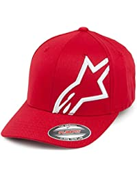 Casquette de Baseball Flexfit Corp Shift rouge ALPINESTARS