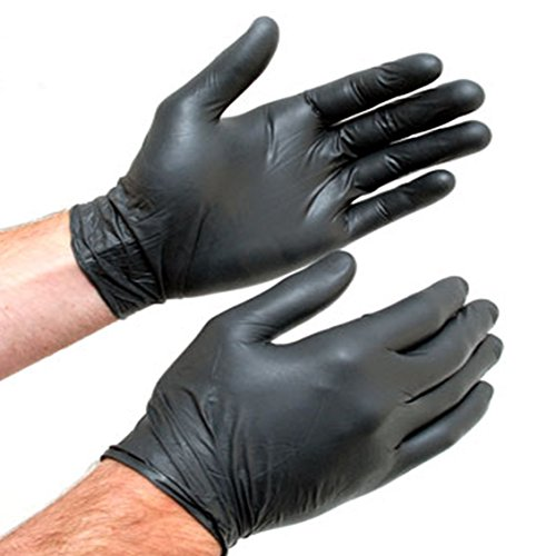 Monza Heavy Duty Disposable Nitril Gloves