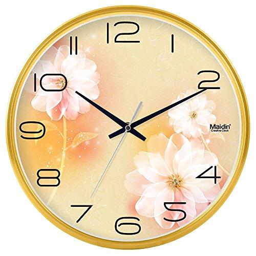 DIDADI Wall Clock Stilvoll Wohnzimmer Wanduhr Büro minimalistischen Dämpfer clock-table Creative Quarz Uhr 30,5cm