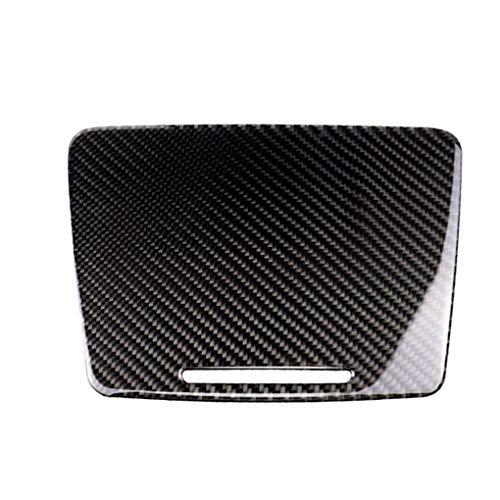 Ben-gi Carbon-Faser-Wasser-Becherhalter-Panel-Abdeckung Trim Ersatz für Mercedes C-Klasse W205 C180 C200 GLC -