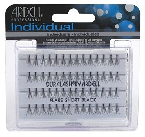 Ardell faux cils individuels - pack x56 noir