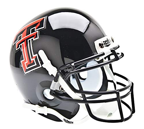 Schutt NCAA Texas Tech Sammlerstück Mini Football Helm