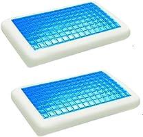 Moon Cool Gel Memory Foam Pack Of 2 Pillow, 40X70 cm, Kpg2