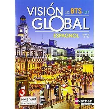 Visión global – Espagnol BTS – IUT 1re et 2e années A2+ > B2